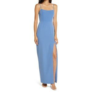 NWOT WAYF The Lettie Column Gown